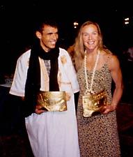 Lahcen Ahansal and Lisa Smith-Batchen